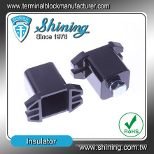 SL-4050F Black M10 Plastic Busbar Low Voltage Electrical Insulator