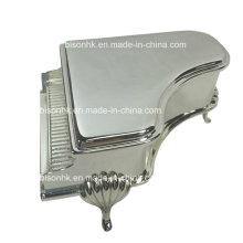 Silber überzogene Schmucksache-Kasten-vorzügliche Geschenk-Kasten
