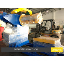 automatic 5 tons hydraulic decoiler machine
