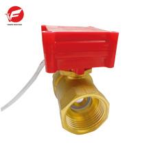 Die billigste automatische Entlüftung Pulverfluss Fernbedienung Kugelhahn