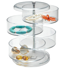 Transparent Acrylic Jewelry Display Trays with Lids