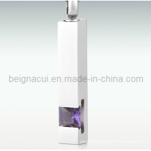 Stainless Steel Cremation Jewelry Pet Ash Pendant