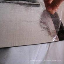 Membrane imperméable modifiée de bitume APP / Sbs modifiée avec la surface en aluminium (épaisseur de 3.0mm / 4.0mm / 5.0mm)
