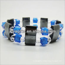 01B5007/new products for 2013/hematite spacer bracelet jewelry/hematite bangle/magnetic hematite health bracelets
