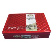 Chocolate Tin Box Rectangular