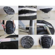 Poltrona 600D / tecido de algodão cadeiras de lua dobráveis