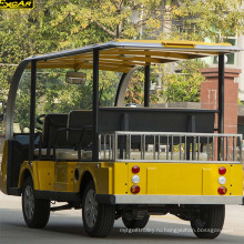 8 пассажиров электрическая sightseeing автомобиль для продажи