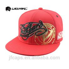 красная хлопковая кепка Snapback в стиле хип-хоп с вышивкой и принтом