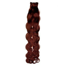 Red Brazilian Virgin Remy Afro Tight Curly Hair Weave, 100% Human Hair, No Animal Hair or Fiber Wire