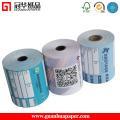 Ticket, POS, utilisation d'étiquettes et revêtement de revêtement de papier thermique