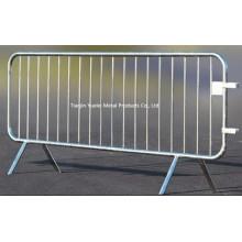 Barrière de contrôle de la foule 2.5m Loose Leg Sécurité temporaire / Clôture de sécurité