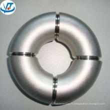 201 304 316 mince paroi en acier inoxydable tuyau coude dimensions 22,5 degrés
