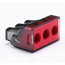 Conectores de fio push-in para máquinas elétricas rotativas