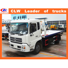 Dongfeng 4*2 Sliding Platform Street Wrecker 6 Wheel Recovery Truck