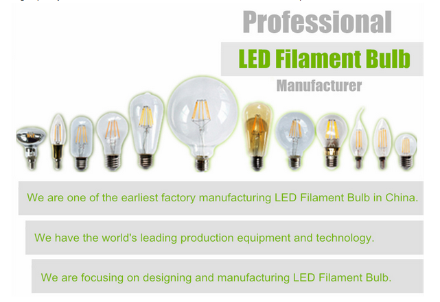 R80 tungsten filament Led Filament Bulb with Mirror Reflection led bulb light