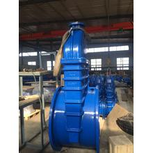 Resilient seated and metal wedge gate valve