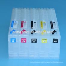 Cartucho de tinta recarregável de 4 cores para o epson T7041-T7048 para a impressora a jacto de tinta de Epson 70610