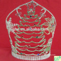 2014 Santa Claus crown,big pageant crown,tall animal tiaras for sale