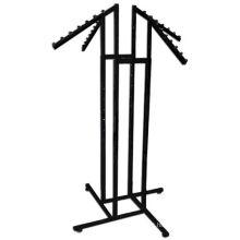4 Way Slanted Arms Vestuário Vestuário Tecido Clothes Rack Stand
