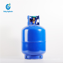 7kg Empty Cooking LPG Gas Cylinder High Performance Portable LPG Gas Cylinder Liquefied Gas Cylinder