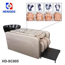 Cama de champú de salón 2016 Hengde HD-SC805 con masaje corporal completo