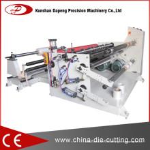 Máquina de corte de rolo para papel de embalagem de papel artesanal (rebobinador de cortador)