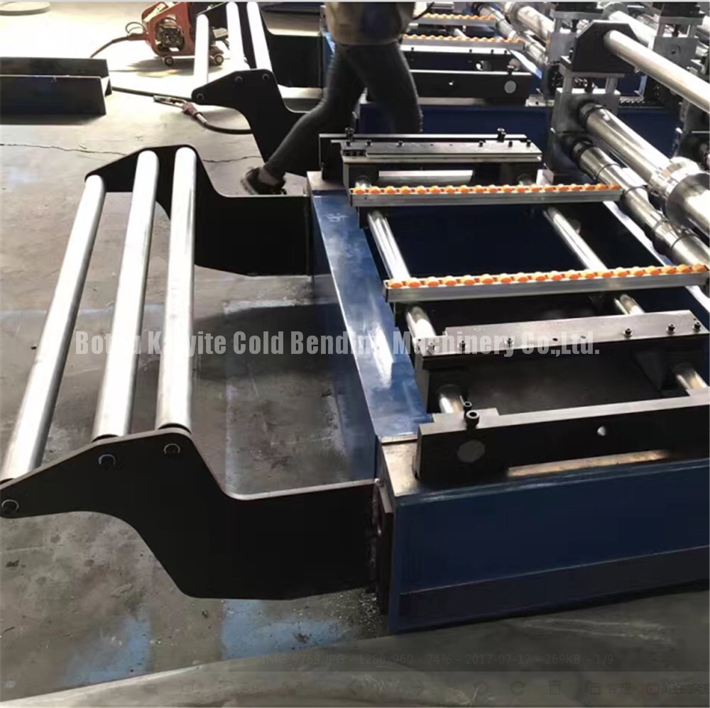 glazed metal roofing machine