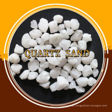 Areia de sílica de qualidade superior pura natural / pó de sílica de alta qualidade / preço favorável areia de quartzo avançada
