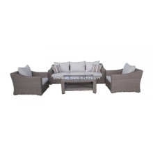 Ensemble de Sofa en osier de rotin jardin salon meubles Patio