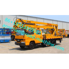 Truk XCMG 32M Truck Mounted Telescopic Aerial