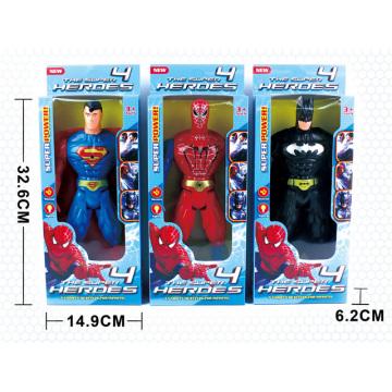 Boy Gift Figure Toys Poupée en plastique avec lumière (H9794034)