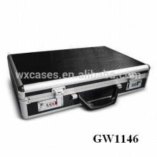 valise solide et portable en aluminium de haute qualité de Chine usine