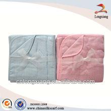Couvertures en bambou en tissu doux