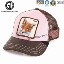 Neuer Art- und Weiseineinander greifen-Rosa-justierbarer kundenspezifischer Baseball-Fernlastfahrer-Hut