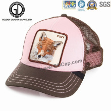 New Fashion Mesh Pink Adjustable Custom Baseball Trucker Hat
