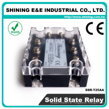 SSR-T25AA Tipo trifásico AC para AC Industrial 25A AC Relay SSR