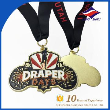 Medalha de Maratona de Espumante Suave