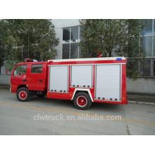 Carro de bombeiros eficiente alto da fonte da fábrica, caminhão de fogo de 3 toneladas para a venda