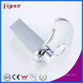 Fyeer Fashion Big Spout Brass Waterfall Basin Faucet