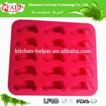 Eco-friendly FDA LFGB одобренные кухонные инструменты варя Главная создатель льда мягкая милая форма автомобиля Силиконовая прессформа льда