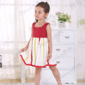 Toddler colorful sleeveless boutique dress