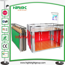 Metal Foldable Promotuion Table Desk for Supermarket