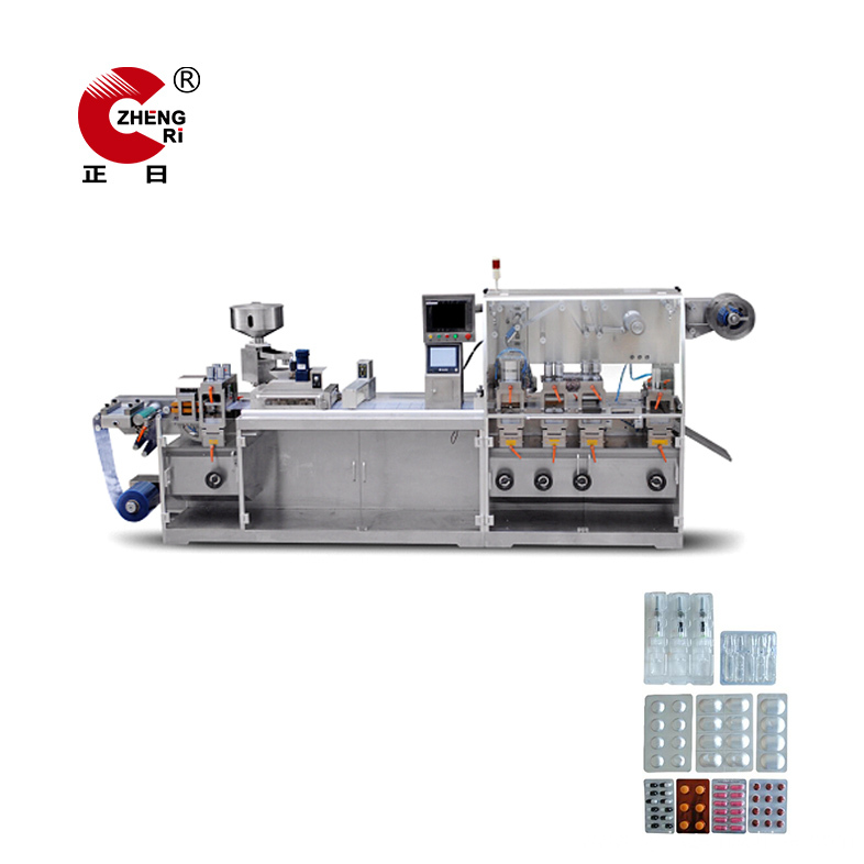 Pharmaceutical Tablet Automatic Blister Packing Machine