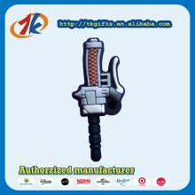 Kundenspezifisches Logo-Spielzeug-umweltfreundliches Gummi-Telefon-staubdichter Stecker