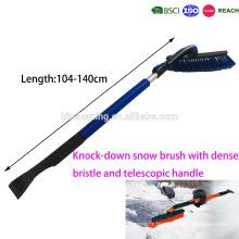brosse à neige K / D détachable avec soie dense et souple et poignée télescopique