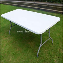 Plastic folding bench