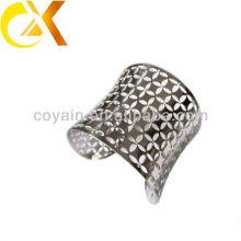 Expresar alibaba joyas de acero inoxidable gran brazalete