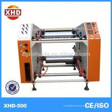 Máquina de corte e rebobinagem