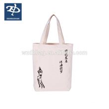 100% nature cotton jean hand bag for lady