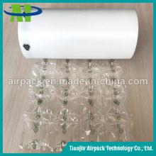 Film de coussin de bulle d'air de matériau d'emballage en plastique